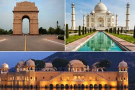 4 nights and 5 Days Golden Triangle Tour Package