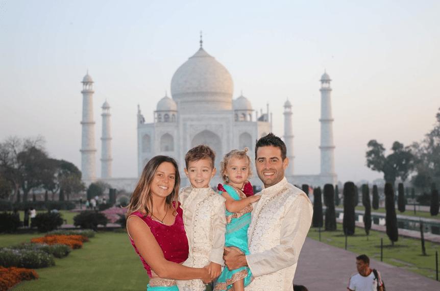 Sunrise Taj Mahal tour from Jaipur